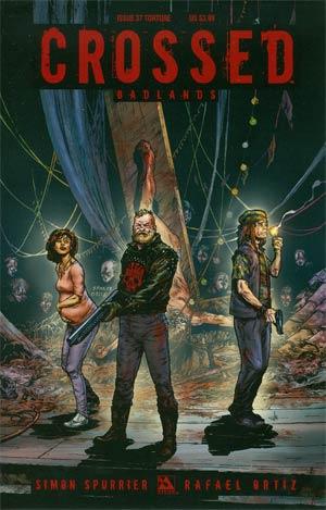 Crossed Badlands #37 Cover C Torture Cvr