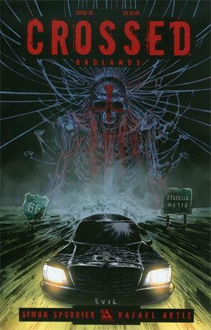 Crossed Badlands #38 Cover A Reg Cvr