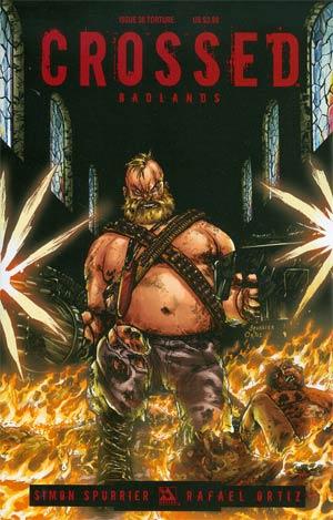 Crossed Badlands #38 Cover C Torture Cvr