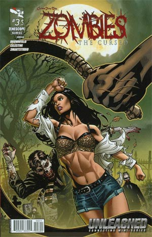 Grimm Fairy Tales Presents Zombies The Cursed #3 Cover A Drew Andrew Johnson