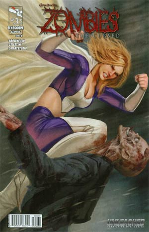 Grimm Fairy Tales Presents Zombies The Cursed #3 Cover C Stjepan Sejic