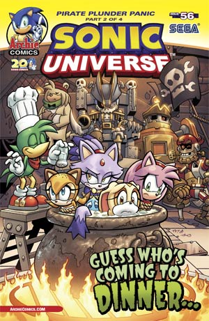 Sonic Universe #56 Cover A Regular Tracy Yardley Cover