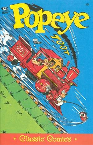 Classic Popeye #14 Cover A Regular Bud Sagendorf Cover