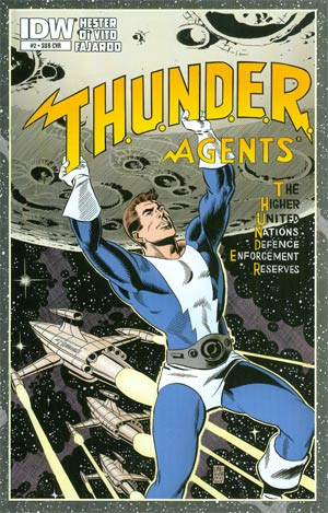 THUNDER Agents Vol 5 #2 Cover B Variant Dave Sim Subscription Cover