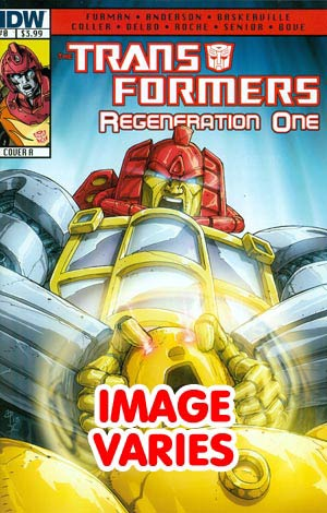 DO NOT USE Transformers Regeneration One #0 1st Ptg Regular Cover (Filled Randomly With 1 Of 2 Covers)