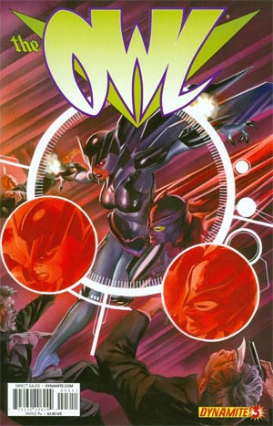 Owl Vol 2 #3 Cover A Regular Alex Ross Cover