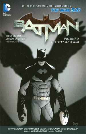 Batman (New 52) Vol 2 City Of Owls TP