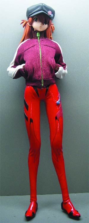 Evangelion 3.0 You Can (Not) Redo Asuka Langley Nekomimi Version Real Action Hero Action Figure