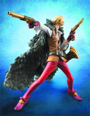 One Piece P.O.P. Sanji EX Model PVC Figure Edition Z Version
