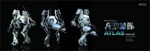 Portal 2 Atlas 1/6 Scale Figure