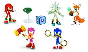 Sonic The Hedgehog 3-Inch Action Figure With Accessories Assortment Case