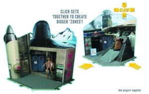 Doctor Who 3.75-Inch Action Figure Playset Assortment Case