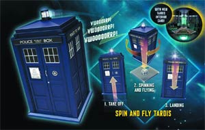 Doctor Who 3.75-Inch Spin And Fly TARDIS Figure