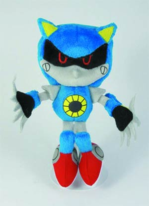Sonic The Hedgehog 7-Inch Plush - Metal Sonic