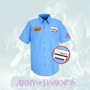 Army Of Darkness S-Mart Previews Exclusive Work Shirt Large