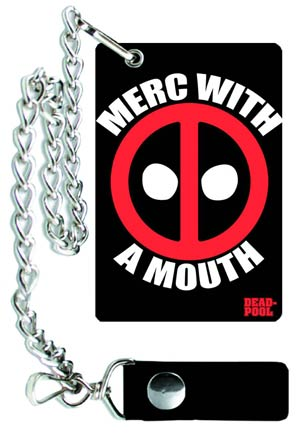 DO NOT USE (Duplicate Listing) Deadpool Chain Wallet - Merc With A Mouth