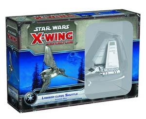 Star Wars X-Wing Miniatures Lambda-Class Shuttle Expansion Pack