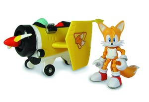Sonic The Hedgehog All-Star Racing 5-Inch Action Figure Vehicle Assortment Case