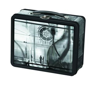 Portal 2 Tin Lunch Box - 1940s Aperture Laboratories