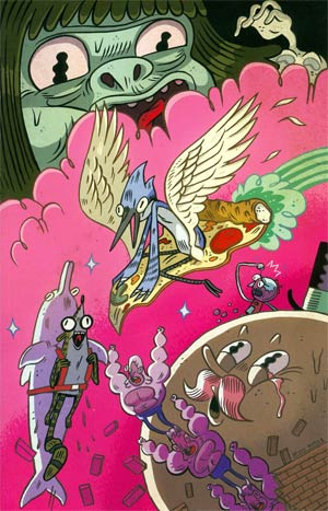 Regular Show #2 Cover D Incentive Brian Butler Virgin Variant Cover