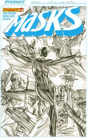 Masks #8 Cover G Incentive Alex Ross Sketch Cover (Cover Says Issue #7)