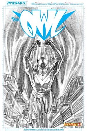 Owl Vol 2 #1 Cover D Incentive Alex Ross Sketch Cover