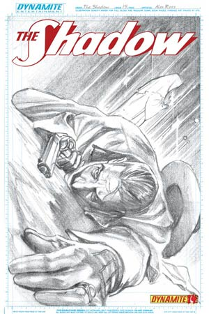 Shadow Vol 5 #15 Cover F Incentive Alex Ross Sketch Cover