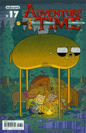 Adventure Time #17 Cover A Regular Chris Houghton Cover