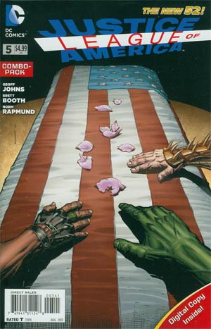 Justice League Of America Vol 3 #5 Cover C Combo Pack Without Polybag