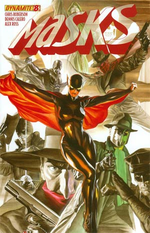 Masks #8 Cover A Regular Alex Ross Cover