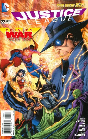 Justice League Vol 2 #22 Cover D Incentive Brett Booth Variant Cover (Trinity War Part 1)