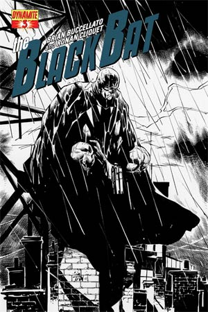 Black Bat #3 Cover F Incentive Billy Tan Black & White Cover