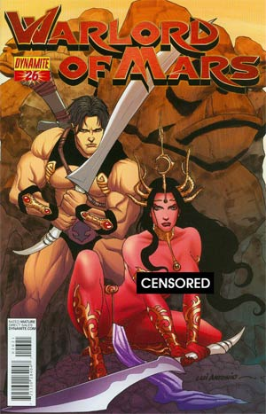 Warlord Of Mars #26 Cover C Incentive Lui Antonio Risque Variant Cover