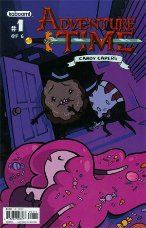 Adventure Time Candy Capers #1 Cover A Regular Josceline Fenton Cover