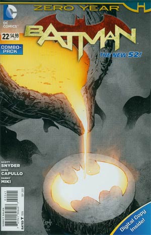 Batman Vol 2 #22 Cover C Combo Pack Without Polybag (Batman Zero Year Tie-In)