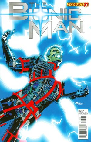 Bionic Man #21 Cover A Mike Mayhew