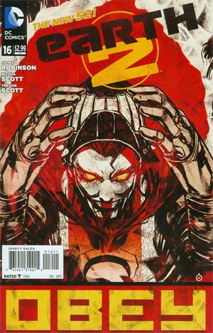 Earth 2 #16 Cover A Regular Juan Doe Cover