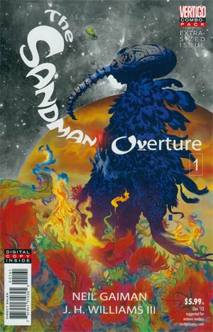 Sandman Overture #1 Cover C Combo Pack With Polybag