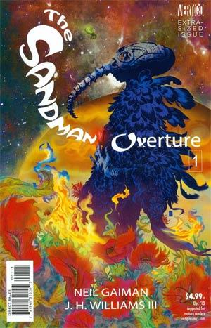 Sandman Overture #1 Cover A 1st Ptg Regular JH Williams III Cover