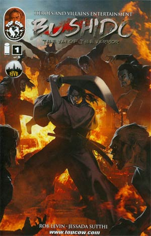 Bushido #1 Cover A Regular Studio Hive Cover