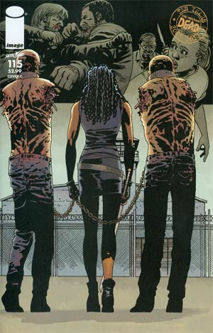 Walking Dead #115 Cover C Connecting Cover Year 2