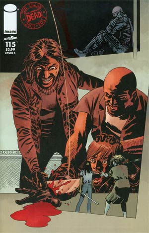 Walking Dead #115 Cover D Connecting Cover Year 3