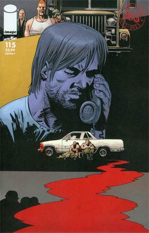 Walking Dead #115 Cover F Connecting Cover Year 5