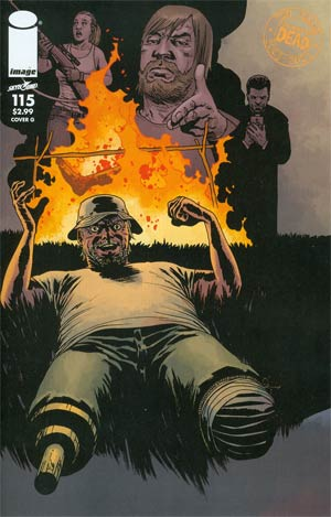 Walking Dead #115 Cover G Connecting Cover Year 6