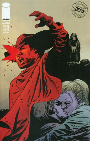 Walking Dead #115 Cover I Connecting Cover Year 8