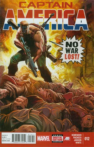 Captain America Vol 7 #12 Cover A Regular Carlos Pacheco Cover