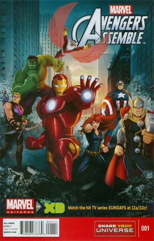 Marvel Universe Avengers Assemble #1 Cover A Regular Cover