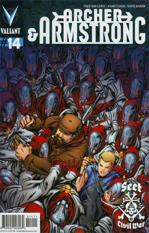 Archer & Armstrong Vol 2 #14 Cover A Regular Khari Evans Cover
