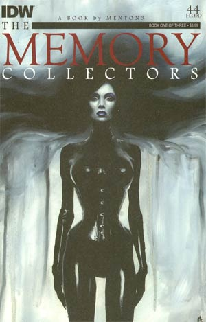Memory Collectors #1 Cover B Variant Menton3 Character Spotlight Subscription Cover