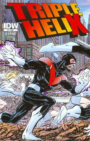 Triple Helix #1 Cover A Regular John Byrne Cover